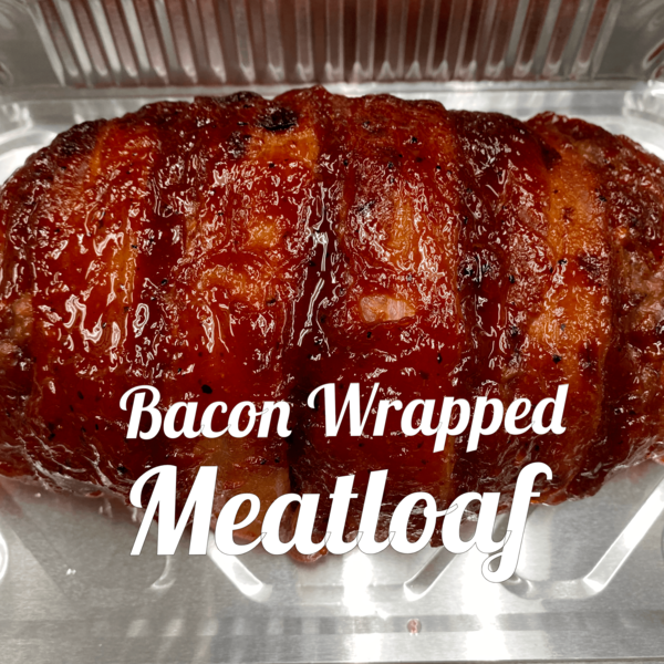 Bacon Wrapped Meatloaf Best Selling Menu Item from Momma Nonni Cooks